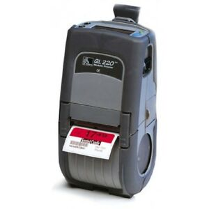 Zebra Ql220 Portable Barcode Printer Q2b luna0000 00