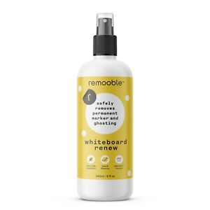 8 Oz Bottle s Of Bio based Non toxic Remooble Whiteboard Renew Cleaner