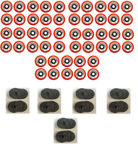 50 X Superior Quality Orange Drum Roller Bearing For Huebsch sq ipso 70568201