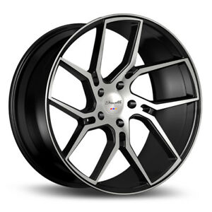 22 Gianelle Dilijan Machined Concave Wheels Rims Fits Bmw M6 Gran Coupe