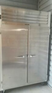 Traulsen Refrigerator Two Doors Commercial Refrigerator And Freezer