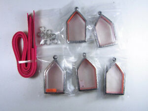 Thai Amulet Frame Case Empty Stainless Steel For Phra Khun Paen Or Other Amulet