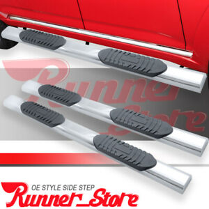 Fit 09 18 Dodge Ram 1500 Crew Cab 5 Running Boards Nerf Bar Side Step S s A