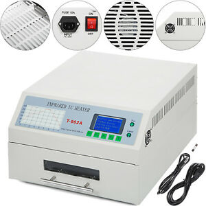 1500w T962a Auto Infrared Ic Heater Reflow Oven Machine Pcb