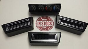 Gen 2 Vintage Air Rotary 4 knob Controller With Rectangle Under Dash Vents