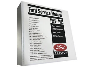 4400 Ford Tractor Technical Service Shop Repair Manual Huge 913 Page Book