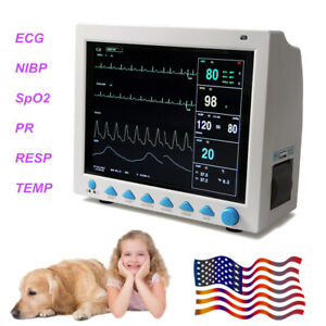 Newest Veterinary Vital Signs Patient Monitor Animal vet Care Contec Cms8000