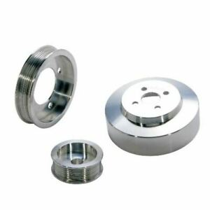 1994 1995 Mustang 5 0l 3 Pc Under Drive Pulley Kit aluminum