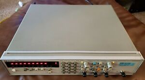 Hp Agilent 5334b Universal Counter Opts 10 60 5444b 010 030