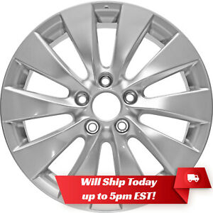 New Set Of 4 17 Replacement Alloy Wheels And Centers For 2003 2017 Honda Accord
