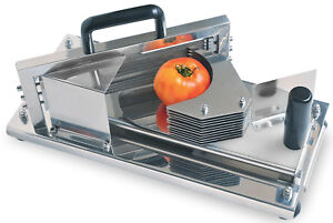 Chef s Exclusive Commercial Grade All Stainless Steel Tomato Slicer 1 4 Slice