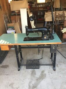 Antique Singer 31 15 Heavy Duty Leather Upholstery Sewing Machine Tested