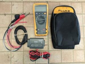 Fluke 177 Multimeter With Fom Module