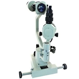 Topcon Slit Lamp Optical Microscope And Base Sl 2d