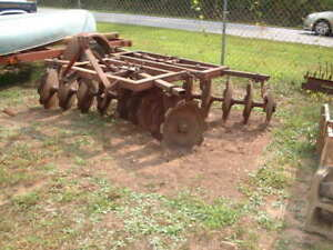 8 Ft Disc Harrows 3 Point Hitch 20 Disc Massey Ferguson Model Mf21 New Bearings
