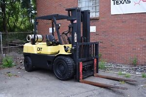 1996 Caterpillar Gpl40 9000lb Pneumatic Forklift