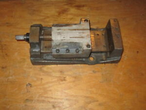 Clausing 8637 4 Milling Vise 2 For 8520 8525 8530 Or Rockwell Milling Machine