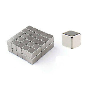 Lots Super Strong 9mm Cube Magnets Neodymium N52 Magnetic Block