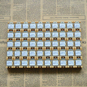 50 Value 0805 2 0x1 2mm Smd Resistor Box Kit 0r 10mr 1 1 8w 5000pcs Rohs