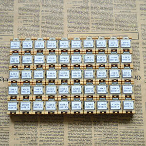 50 Value 0603 1 6x0 8mm Smd Resistor Box Kit 0r 10mr 1 1 10w 10000pcs Rohs