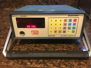 Panametrics Magna mike 8000 Hall Effect Thickness Gage Controller