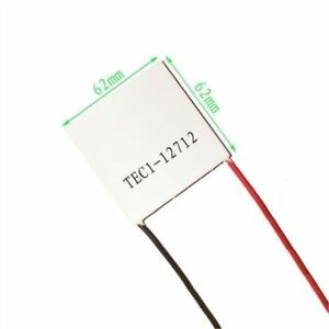 10pcs Thermoelectric Cooler Cooling Peltier Plate Module Tec1 12712 Heatsink Rw