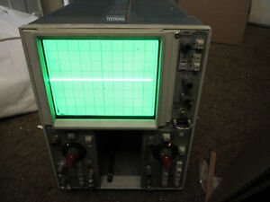 Tektronix 5111 2mhz Storage Oscilloscope With 5a21n And 5b10n Time Base Amplifie