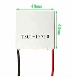 10pcs Cooling Peltier Plate Module Tec1 12710 Heatsink Thermoelectric Cooler Ym