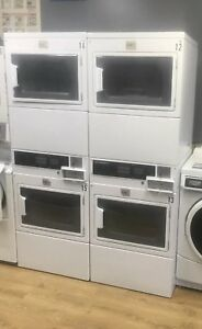 Maytag Stack Dryers Available For A Coin Operated Laundry they Are One Year