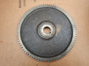 Vintage South Bend Metal Lathe 80 Gear