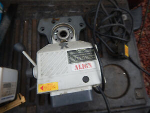 Align Power Feed Al 250 For Milling Machine