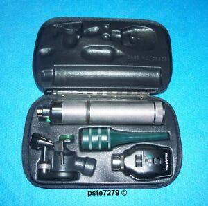 Welch Allyn Veterinary Diagnostic Set 21760 Otoscope 11720 Ophthalmoscope