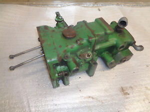 John Deere 40 H T V W Touch o matic Cylinder And Vavle Housing