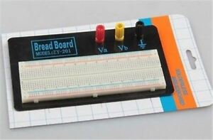 3pcs 830 Tie Points Zy 201 Solderless Breadboard Ic New Ak