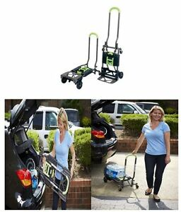 Hand Truck Dollies Convertible Cart Heavy Duty Folding Moving Utility Shifter