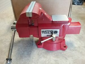 New Matco Bench Vise 6 Jaws