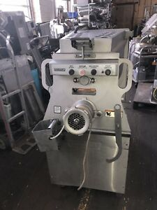 Hobart 1532 32 Stainless Meat Mixer Grinder 7 5hp 3ph 208v Foot Switch