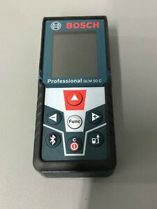 Bosch Glm 50 C Laser Distance Measurer Bluetooth Activated Full color Display
