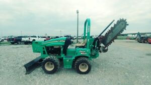2014 Ditch Witch Rt45 Ride On Trencher 171 Hrs Used