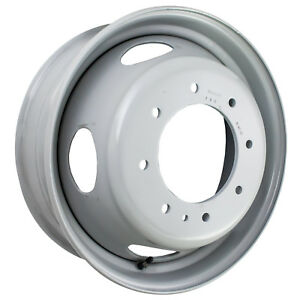 19 5 X 6 5 Slot Direct Fit Aftermarket Replacement Ford Steel Wheel Gray 03342