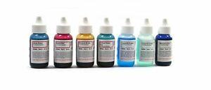 Microscope Stains Vital Stain Kit 7 Bottle Set 6 Different Stains For Microsc
