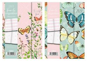 2019 A6 Mum s Family Organiser Diary Week View Floral Home Office Planner Gift