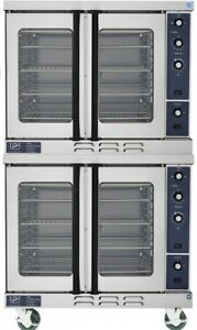 Duke Double Stacked Convection Gas Oven Casters Ny Pick Up Or Freight Delivery