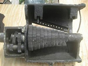 Vintage Carroll Jamison Lathe Quick Change Gear Box