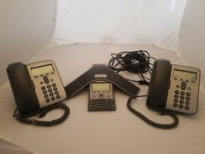 Lot Of Cisco Ip Phone Conference System 7937 2x 7911
