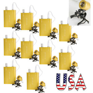 10pcs Clip on Portable Led Head Light Lamp With Clip For Dental Surgical Loupes