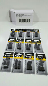 12 Pks Of 4 48 Xtra Seal 15 4927 Tire Valve Stem Caps Long Black Plastic For