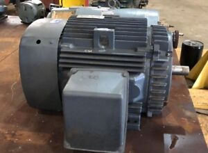 100 Hp Ge Motor Model Ske 405bs115a 3 Ph 3570 Rpm 230 460 Volt