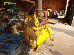John Deere 4276t Turbo Diesel Engine Runs Exc Video 4 276t 550g 450g 4 5