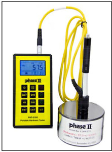 Phase 2 Pht 2100 The New Portable Rugged Hardness Tester